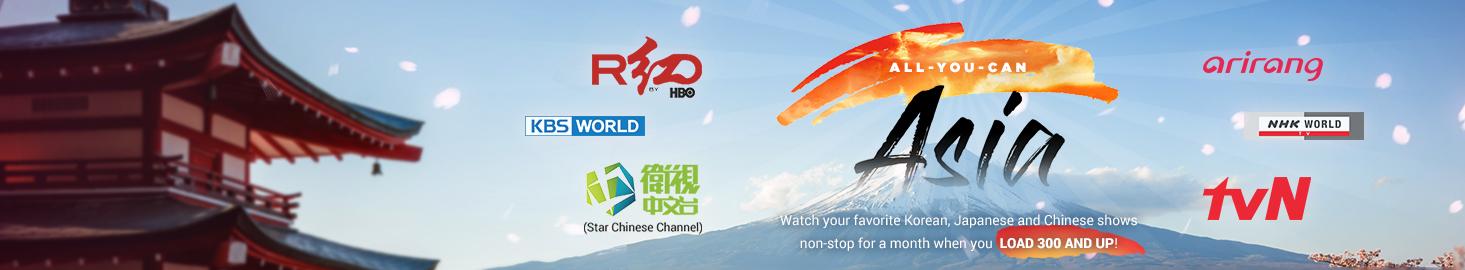 CIGNAL TV - All-You-Can Asia Promo