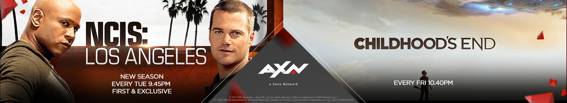 AXN Channel, Serve