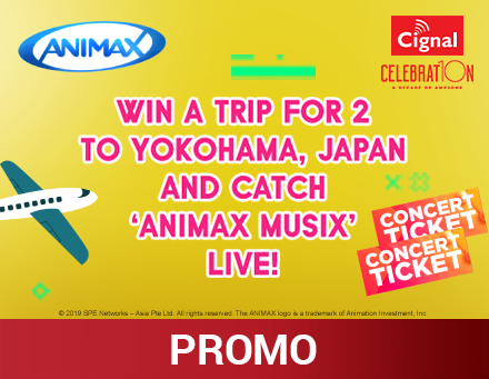 Animax Flyaway to Japan Promo Mechanics