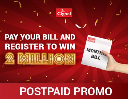 Cignal 2M Postpaid Promo