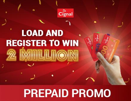Cignal 2M Prepaid Promo