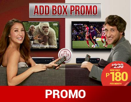 Postpaid Add Box Promo