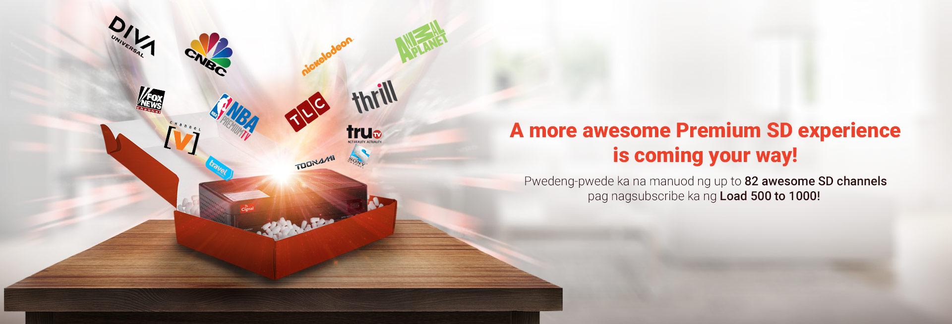 Prepaid Premium SD Kit