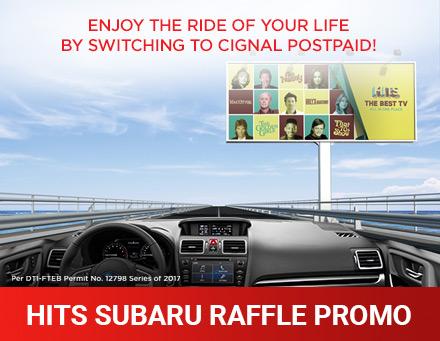 HITS Subaru Raffle Promo
