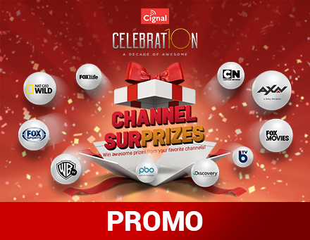 Cignal Channel Surprises - Landing