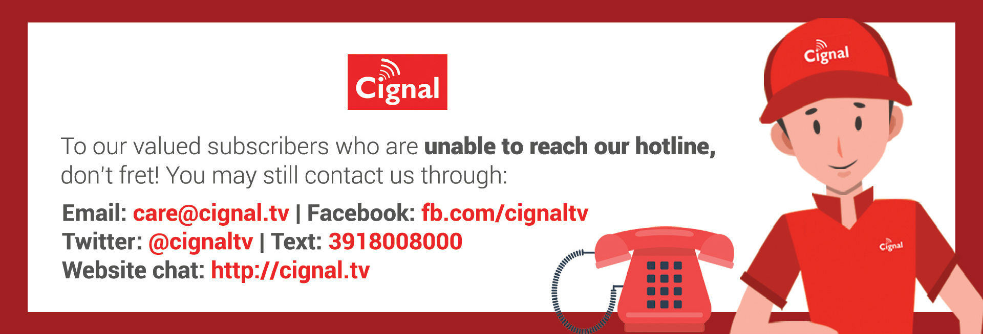 Cignal Advisory Touchpoints