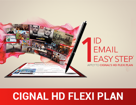 Cignal Flexi Plan