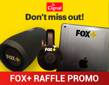 Fox Plus Raffle Promo