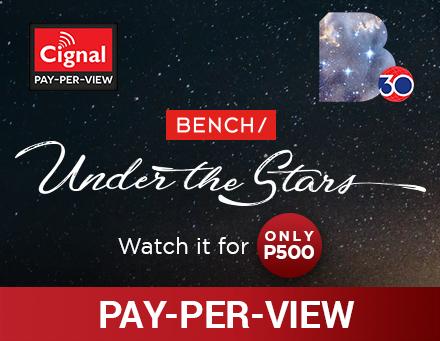 Cignal PPV Bench Under the Stars June 2018