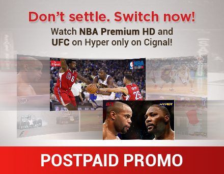 Cignal Postpaid Promo