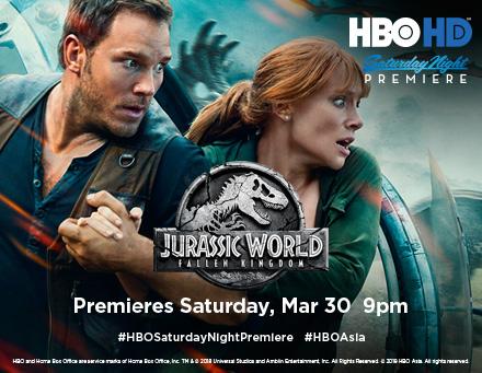 Jurassic World - HBO HD