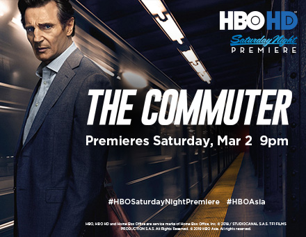 The Commuter - HBO HD
