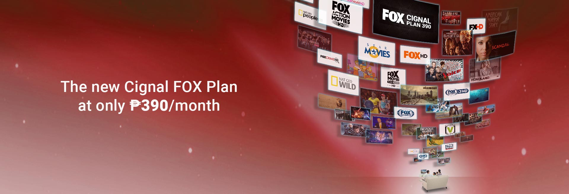 Cignal Fox 390 Plan