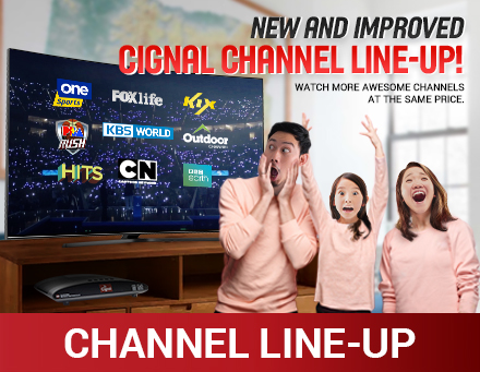 Channel Line Up Updates 2020