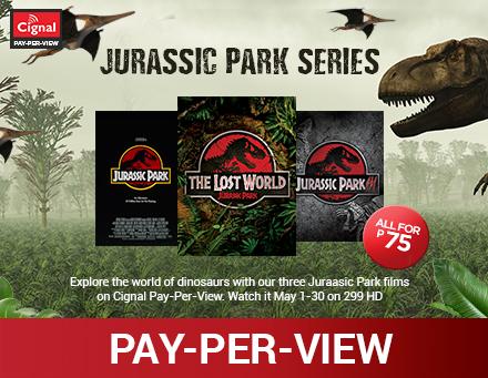 Jurassic Park Series PPV