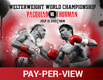 Pacquiao vs. Thurman PPV