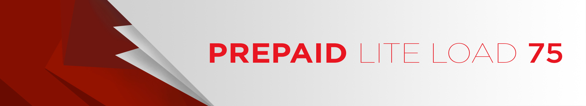 Prepaid Lite Loads Banner