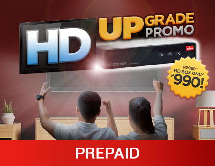 HD Upgrade Promo