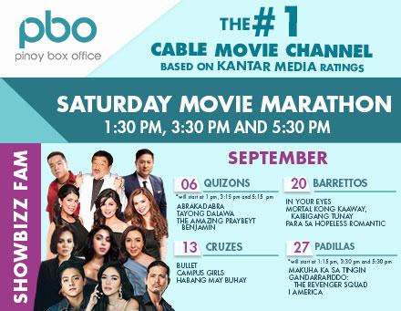 PBO - Saturday Movie Marathon