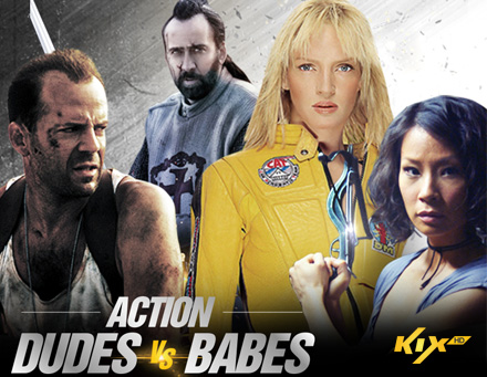 Action Dudes Vs. Babes