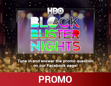 HBO Blockbuster Nights Giveaway Promo