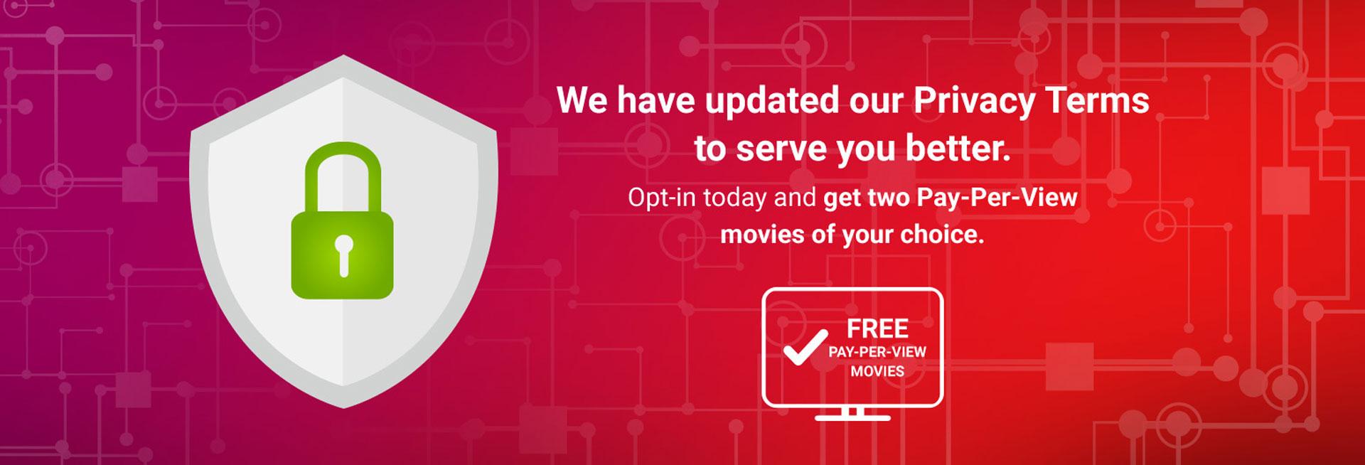 cignal tv data privacy